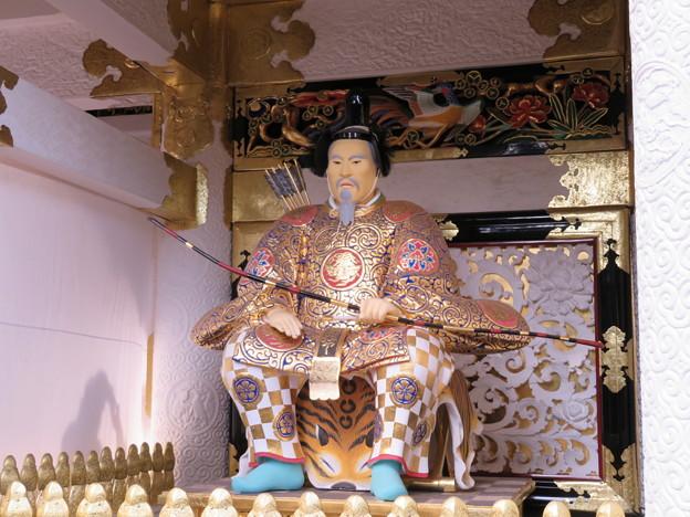 日光東照宮(栃木県)陽明門随神像左大臣