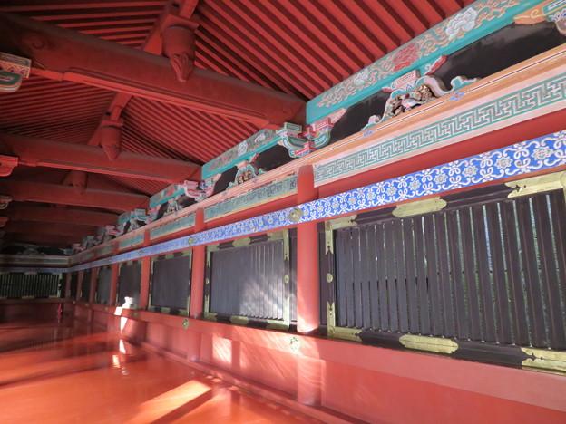 日光東照宮(栃木県)陽明門廻廊