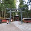 写真: 日光二荒山神社(栃木県)銅鳥居