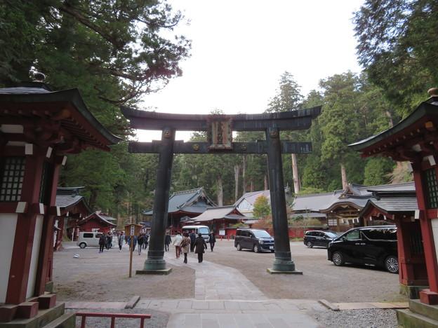 日光二荒山神社(栃木県)銅鳥居