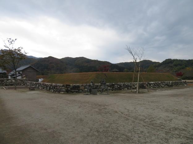小幡陣屋・楽山園(甘楽町小幡)空堀・土塁