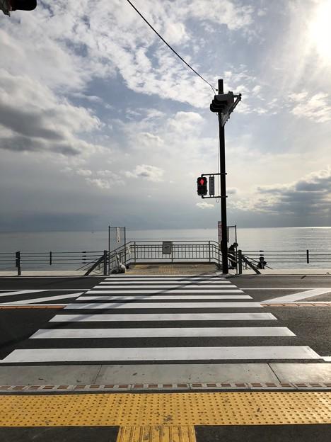 行合橋交差点(鎌倉市)七里ガ浜入口