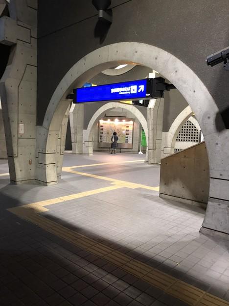 京阪宇治駅構内(宇治市)