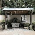 宇治神社(宇治市)手水舎