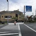 写真: 宇治橋西詰交差点・A.B.C.cafe(宇治市)