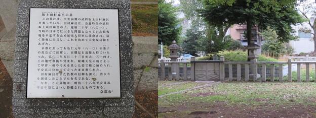 坂上田村麻呂墓(将軍塚。山科区勧修寺東栗栖野町)