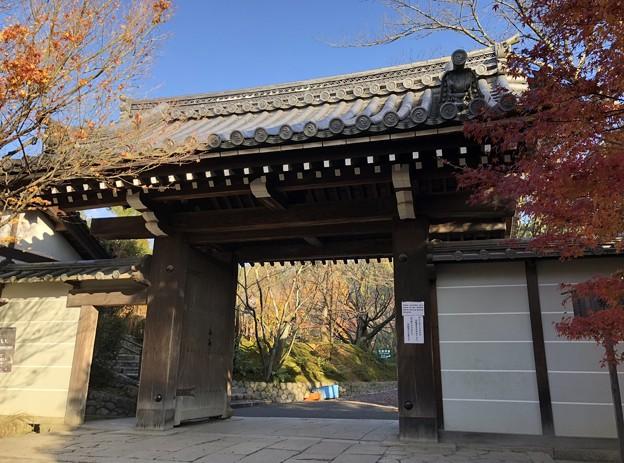龍安寺(右京区)山門