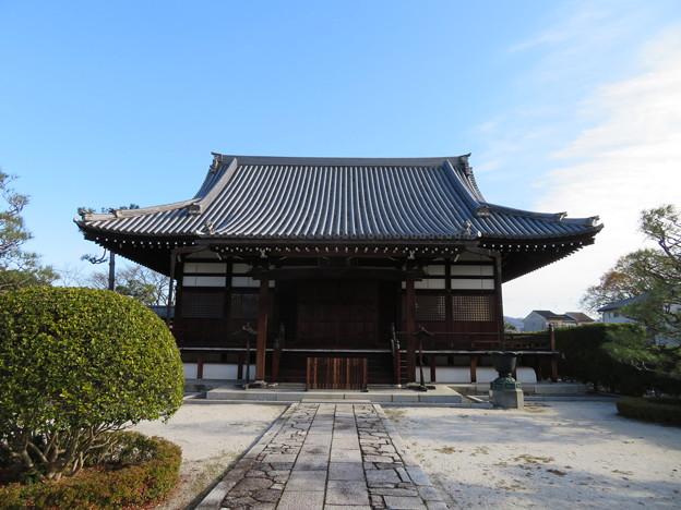 阿弥陀寺(上京区)本堂