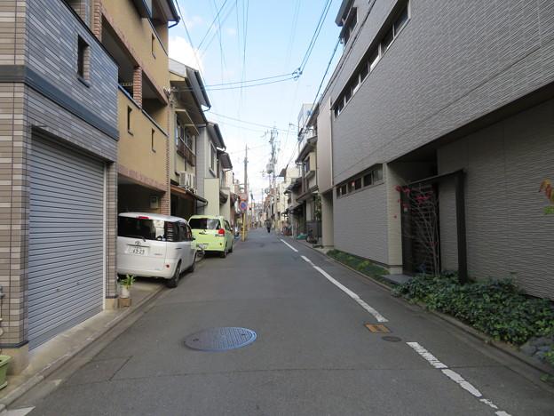 Photos: 本能寺推定跡地(中京区)南面より