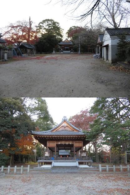膳所神社(大津市)境内・拝殿