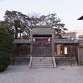 Photos: 膳所城(大津市)濱御殿跡/本多神社