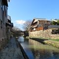 Photos: 八幡山城(近江八幡市)八幡堀