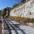 八幡山城屋敷(秀次館。近江八幡市営 八幡公園)北脇邸跡