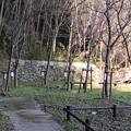 八幡山城屋敷(秀次館。近江八幡市営 八幡公園)家臣団館群
