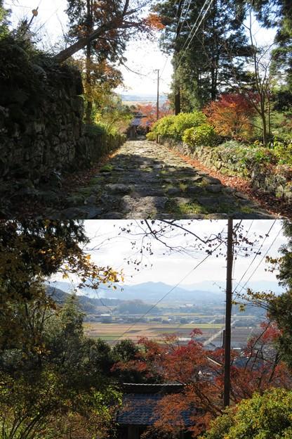 桑實寺(近江八幡市)石段