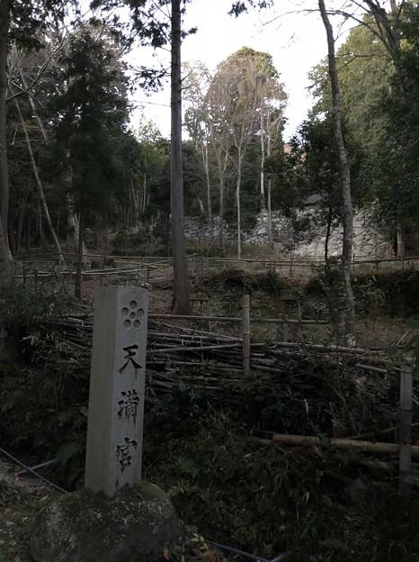 Photos: 観音寺城御屋形(六角氏館。近江八幡市)天満宮