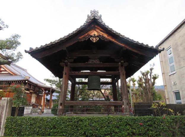 善正寺(左京区)鐘楼