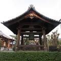 写真: 善正寺(左京区)鐘楼