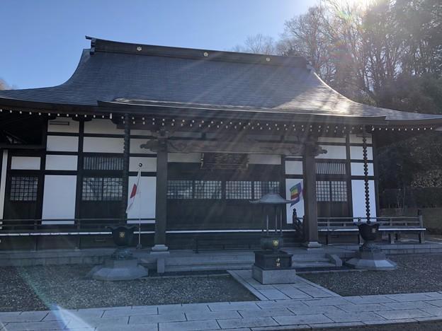 宗印寺(日野市)本堂