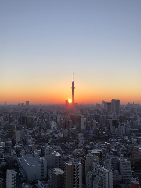 Photos: 2018年1月1日06:55(-人-)