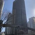 写真: 新宿警察署裏交差点(新宿区西新宿)
