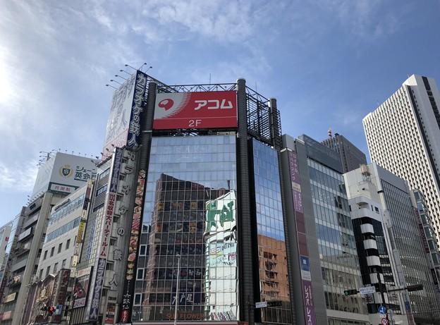 新宿大ガード西交差点(新宿区西新宿)