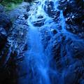 写真: 滝遊び