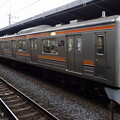 JR東日本千葉支社205系(新浦安駅にて)