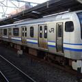 Photos: JR東日本横浜支社E217系(秋の津田沼駅にて)