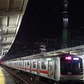 Photos: 東京スカイツリーと東急電鉄5000系