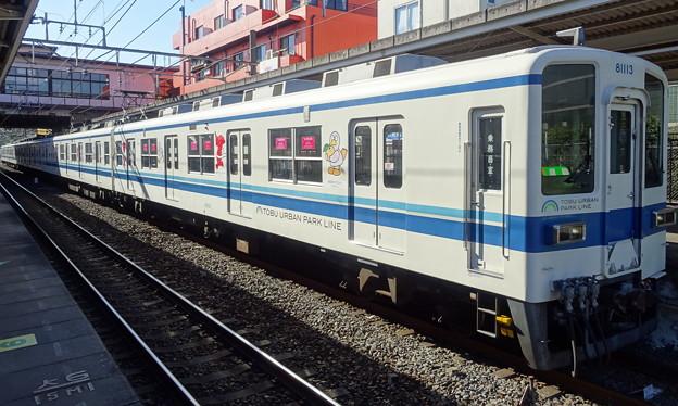 東武アーバンパークライン8000系(コバトン&チーバくん ラッピングトレイン)