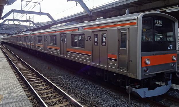 JR東日本千葉支社 武蔵野線205系(中山金杯当日)