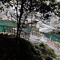 Photos: ダム手前、急階段登ル