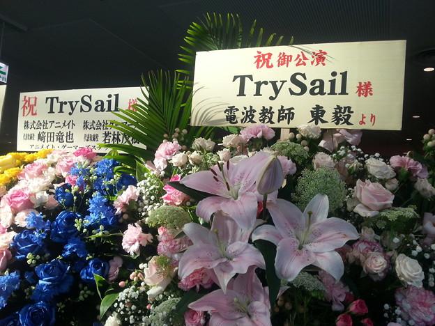 TrySail 横アリライブ 電波教師 作者 東毅より花輪