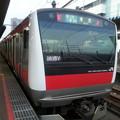 Photos: 京葉線 東京行き 疲れたから 各駅で帰る (>_<)。