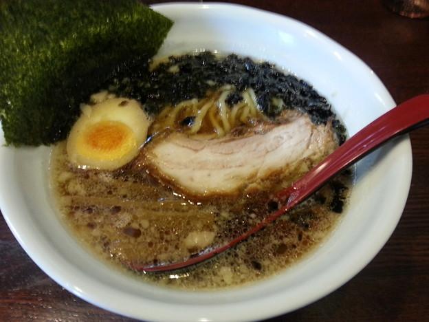 Photos: 萬馬軒 醤油らーめん めっさ美味いd=(^o^)=b