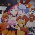 写真: コミケ93 きゃらon!ニューゲーム  青葉ハロウィンタペストリー
