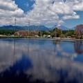 偽ウユニ塩湖