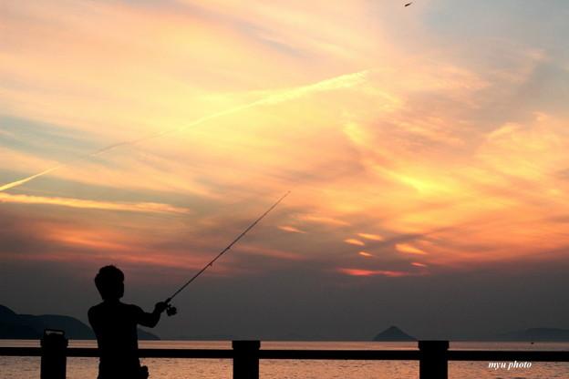 二本の釣り竿