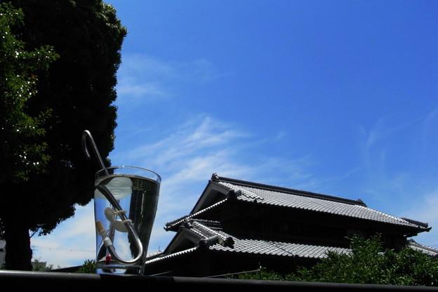 写真: 青空