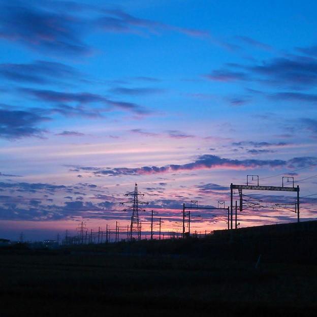 夜明け  2015年7月撮影