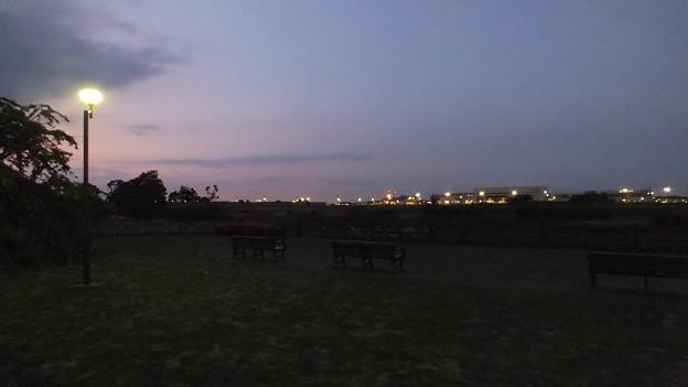 成田空港夕景
