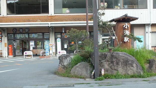 長野県小海町 小海駅前丸ポスト3