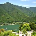 写真: 大滝ダムを見下ろす