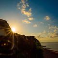写真: 伊豆の朝日