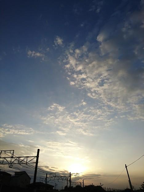 写真: 日暮れ