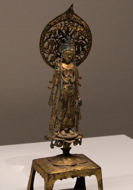 写真: MOA美術館 観音菩薩立像 隋代