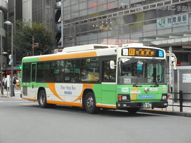 都営バスP-R582 2017-9-14