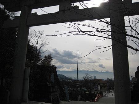 武田神社から見下ろす景色