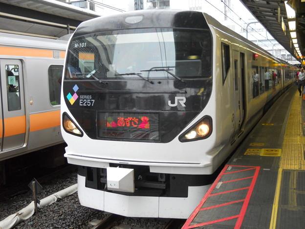 JR東日本 あずさ 新宿駅にて